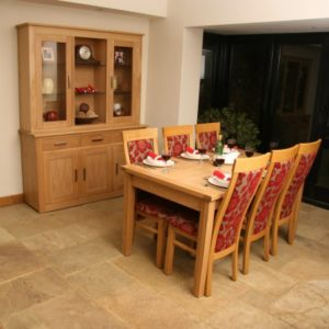 Andrena Elements Oak Dining Table