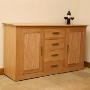 Andrena Elements Oak Sideboard 2