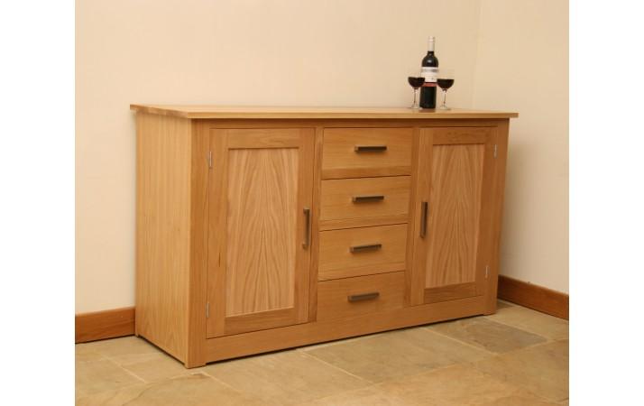 Andrena Elements Oak Sideboard 2