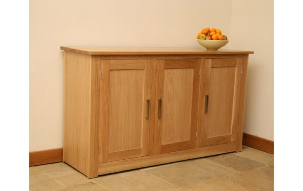 Andrena Elements Oak Sideboard 3