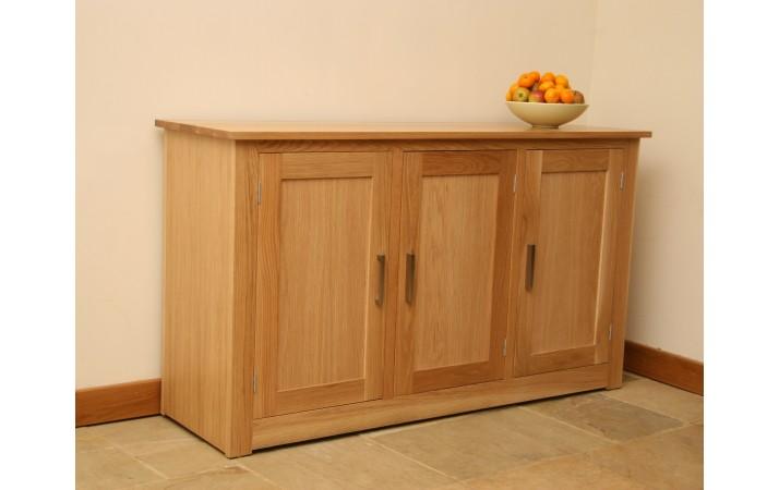 Andrena Elements Oak Sideboard 3