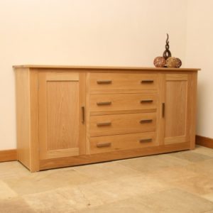 Andrena Elements Oak Sideboard 5