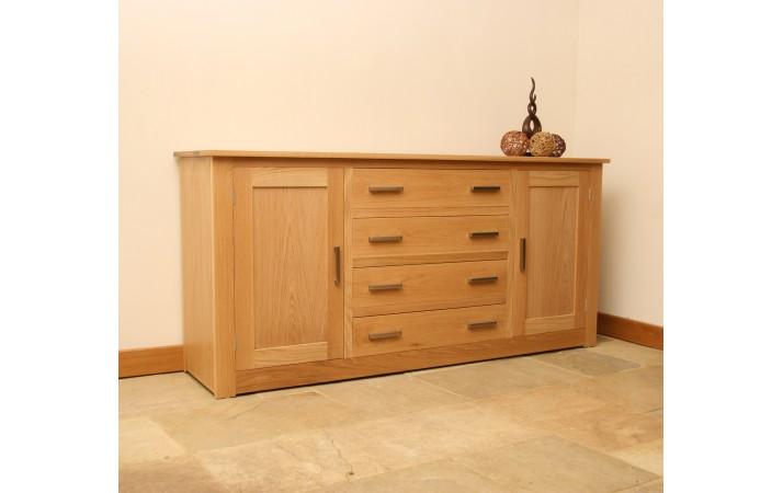 Andrena Elements Oak Sideboard 5