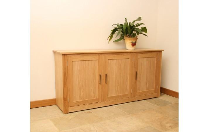Andrena Elements Oak Sideboard 6