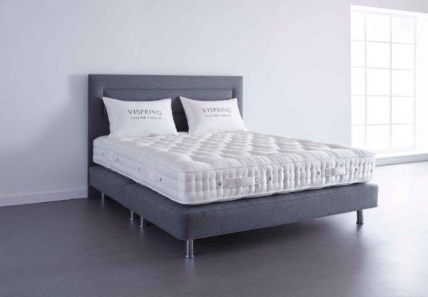 Vispring Elite Bed and Divan undressed