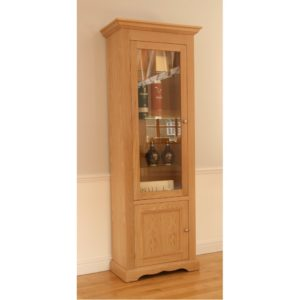 Pelham Narrow Glazed Bookcase