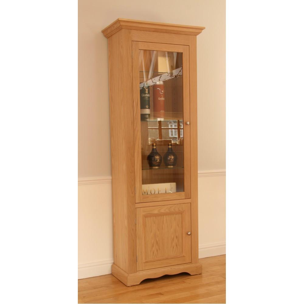 Pelham Narrow Glazed Bookcase