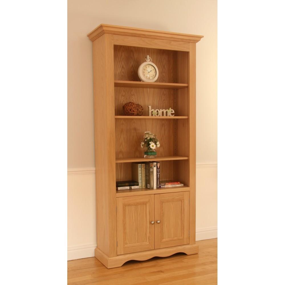Pelham Wide Open Bookcase with Door