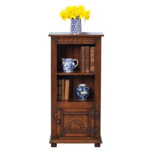 Miniature Oak Bookcase