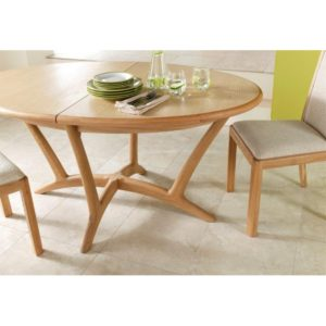 Stockholm Oval Ext Dining Table