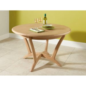 Stockholm Round Ext Dining Table