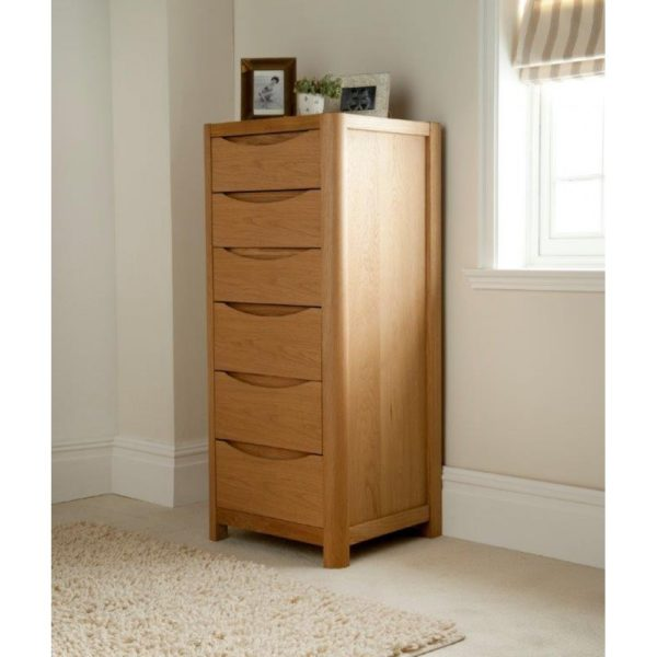 Stockholm Tall 6 Drawer Chest