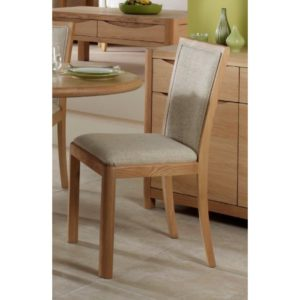 Stockholm Upholstered Back Chair