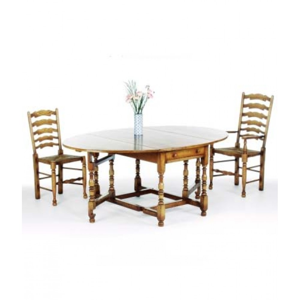 Titchmarsh & Goodwin Drop Leaf Dining Table