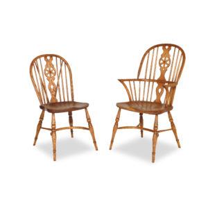 Titchmarsh & Goodwin Elbow Windsor Chair