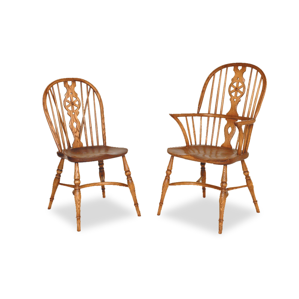 Titchmarsh & Goodwin Elbow Windsor Chair