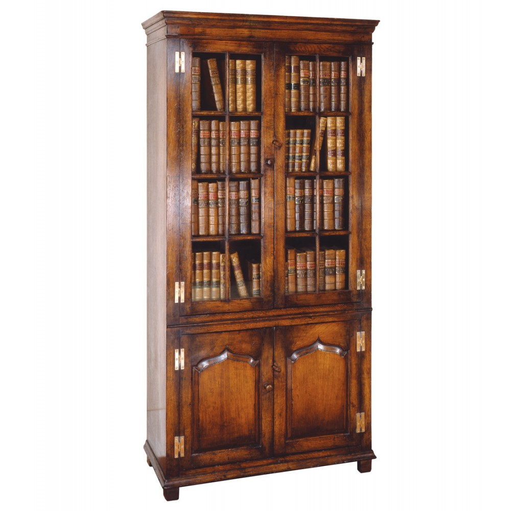 Titchmarsh & Goodwin Glazed Bookcase 2