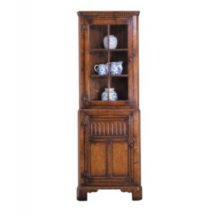Titchmarsh & Goodwin Glazed Corner Cabinet
