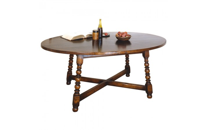 Titchmarsh & Goodwin Oval Dining Table