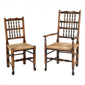 Titchmarsh & Goodwin Spindleback Elbow Chair