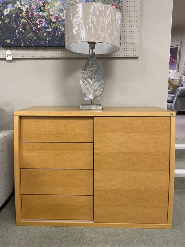 3 drawer sideboard closed