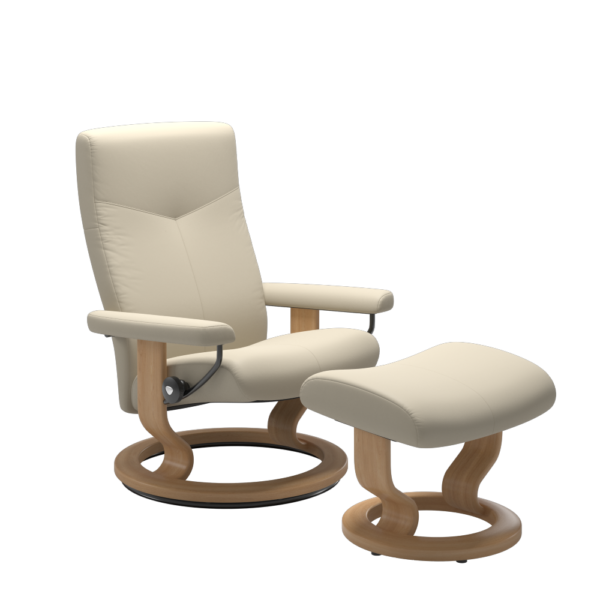 Stressless Dover chair in Cream