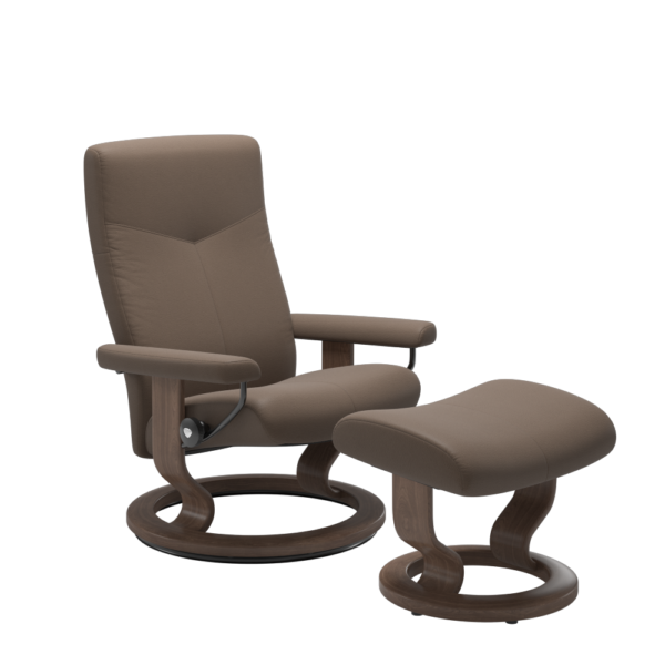 Stressless Dover chair in Mole