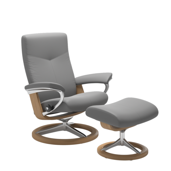 Dover chair in grey