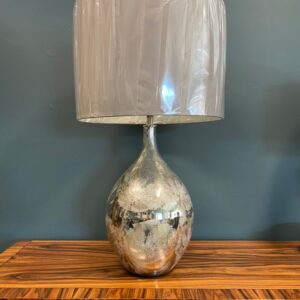 Silvery Ley Lamp