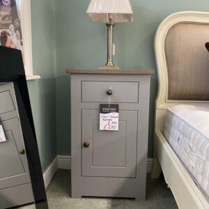 3 door bedside chest