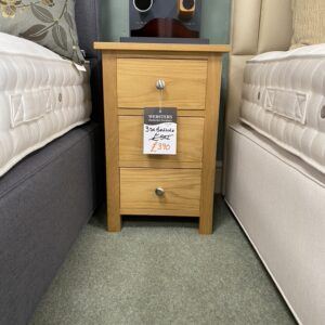 3 door bedside table